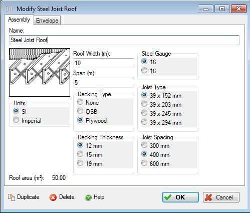 Add Or Modify A Steel Joist And Plywood Or OSB Roofing System