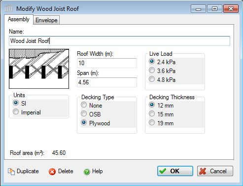 Add Or Modify A Wood Joist And Plywood Or OSB Decking Roof System