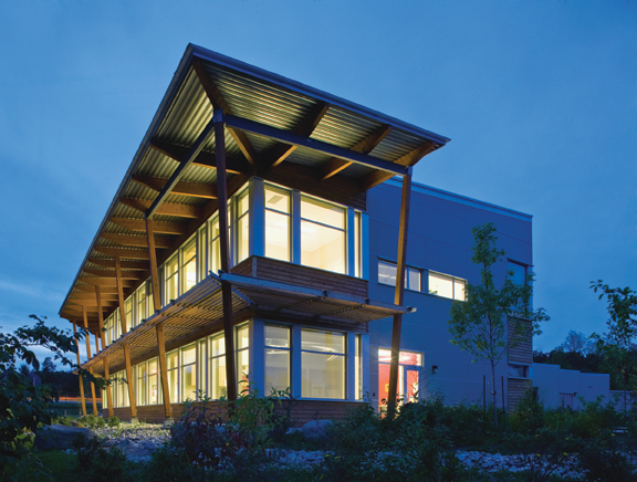 Rideau Valley Conservation Center (RVCC) building