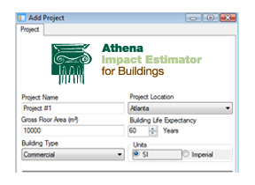 Athena building assessment software