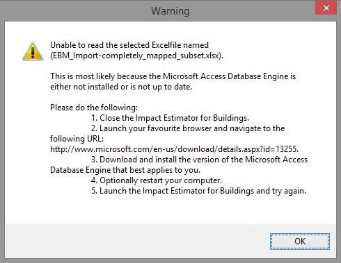 Report Viewer Error Message